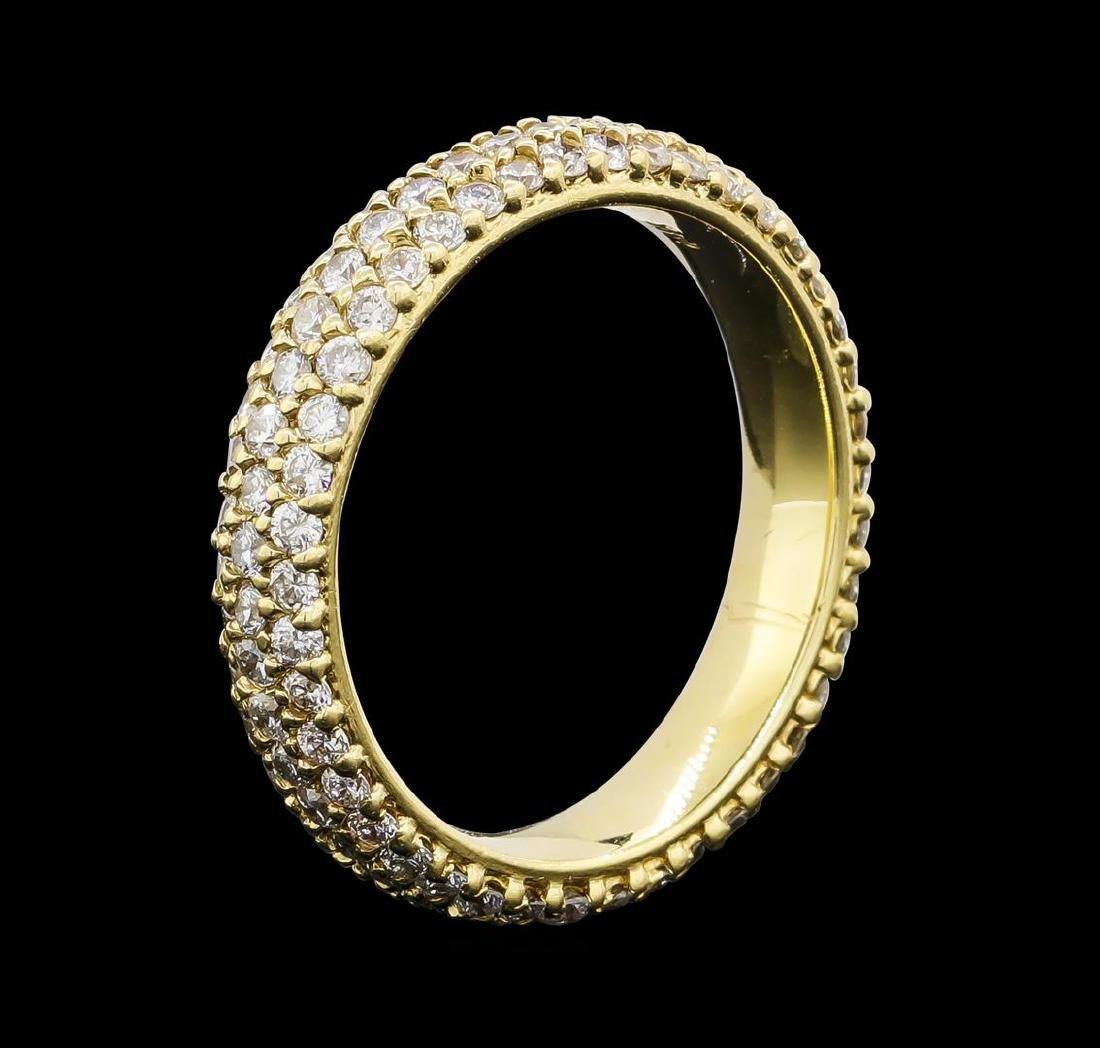 1.75 ctw Diamond Ring - 14KT Yellow Gold - 2