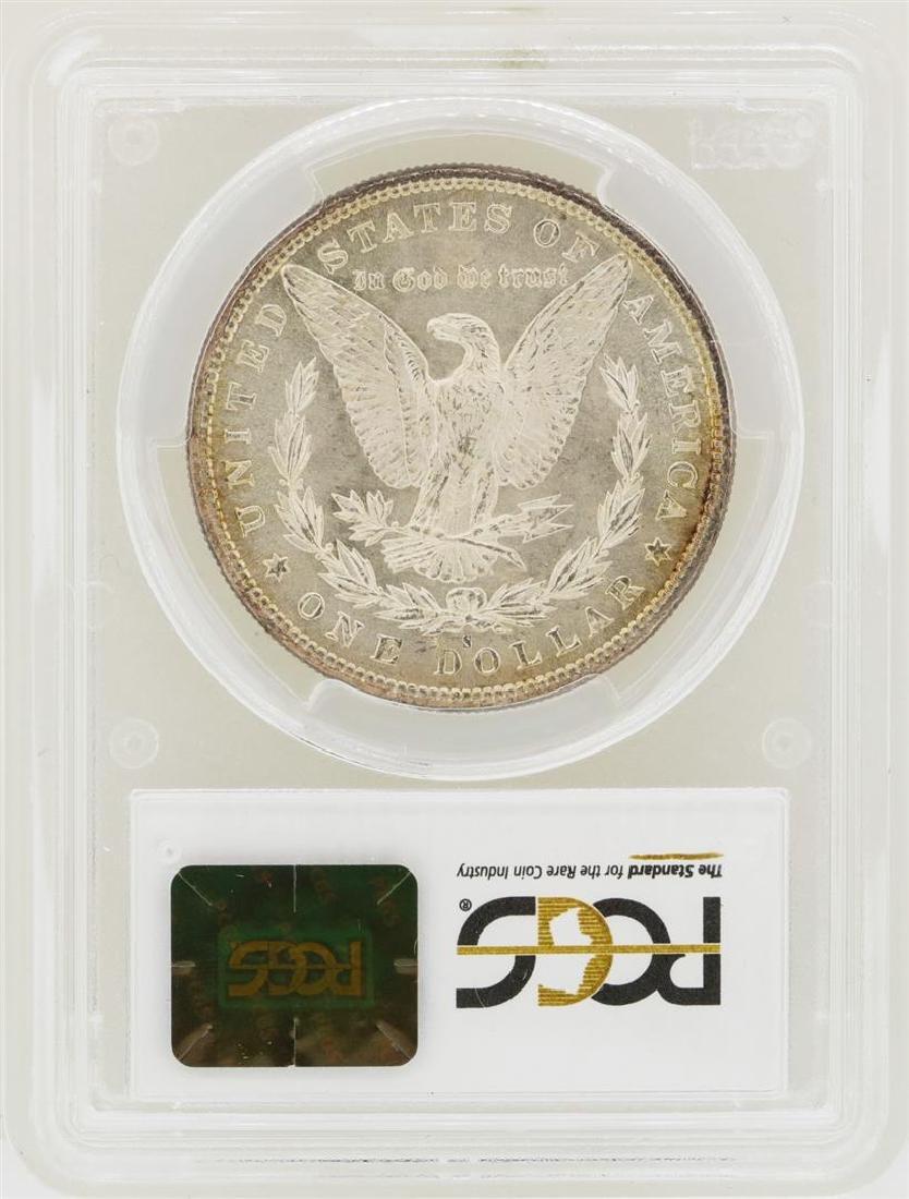 1880-S $1 Morgan Silver Dollar Coin PCGS MS65 Nice - 2