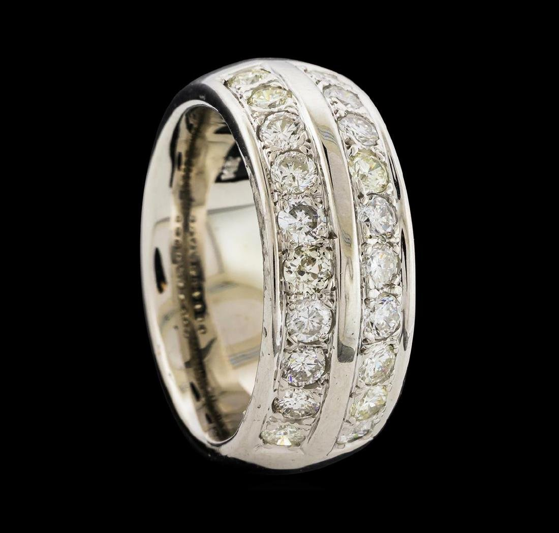 1.70 ctw Diamond Ring - 14KT White Gold - 4