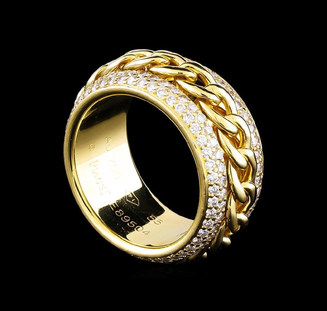 1.25 ctw Diamond Ring - 18KT Yellow Gold - 3