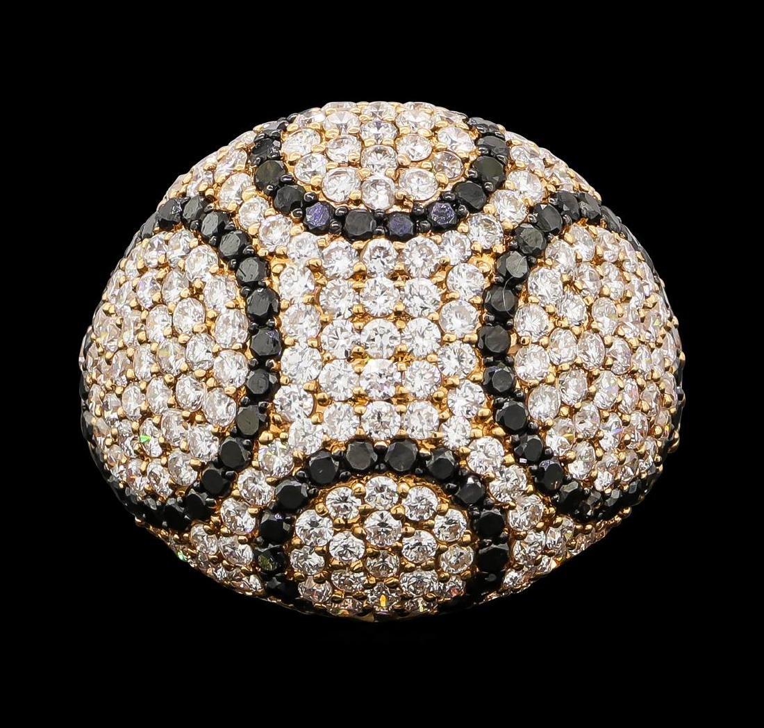 2.65 ctw Diamond Ring - 18KT Rose Gold - 2