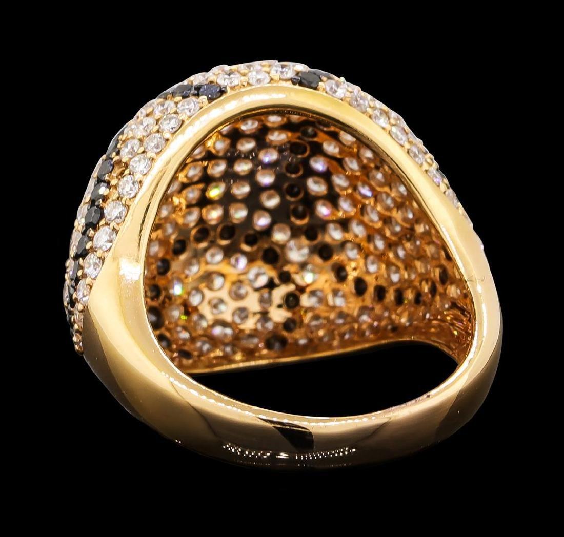 2.65 ctw Diamond Ring - 18KT Rose Gold - 3