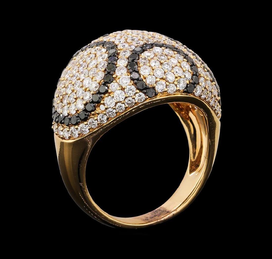 2.65 ctw Diamond Ring - 18KT Rose Gold - 4