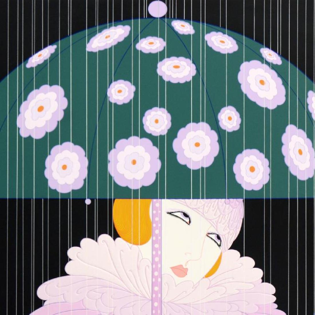 Spring Showers by Erte (1892-1990) - 2