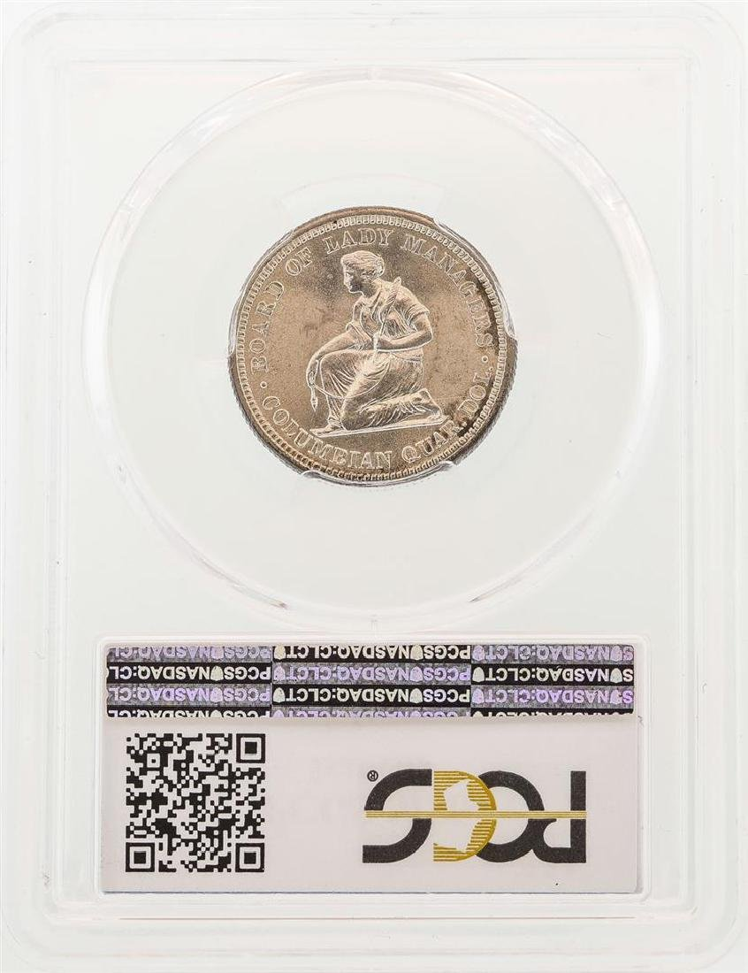 1893 Isabella Commemorative Quarter Coin PCGS MS64 - 2