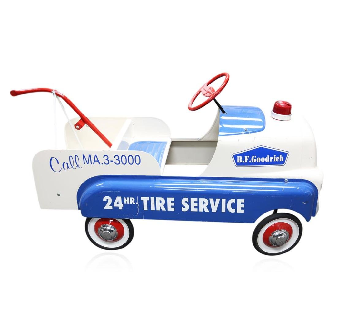 1948 Original BF Goodrich 24 Hour Tire Service Wagon