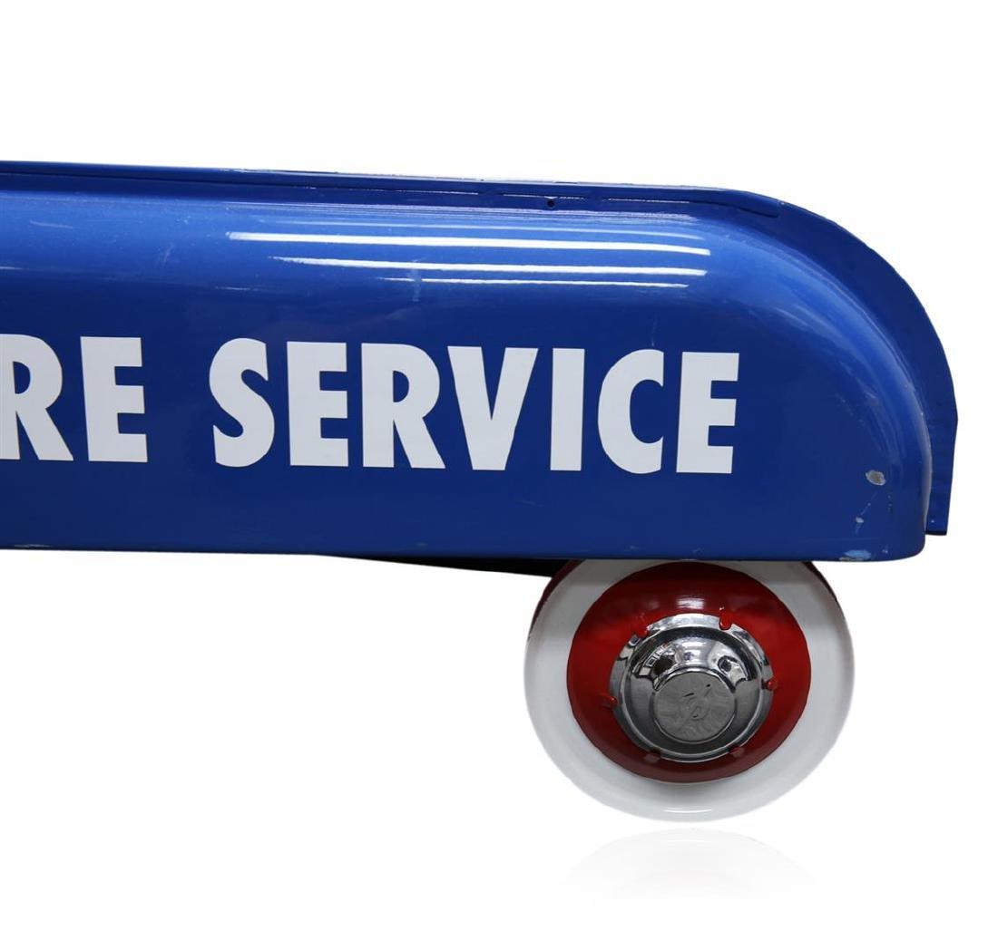 1948 Original BF Goodrich 24 Hour Tire Service Wagon - 5