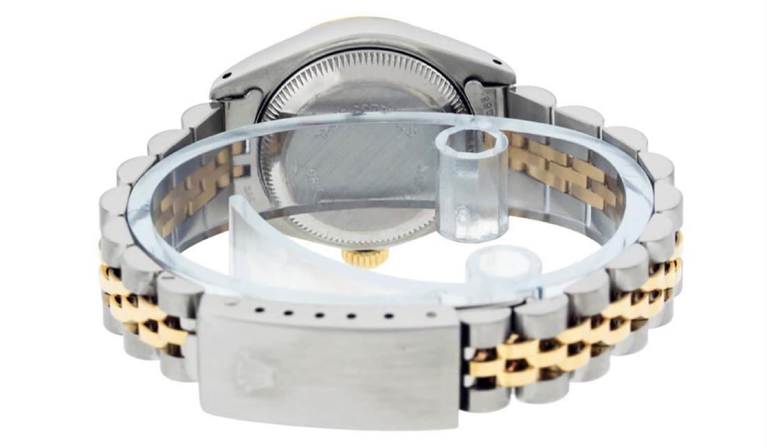 Rolex Ladies 2 Tone 14K White Roman 26MM Datejust - 7