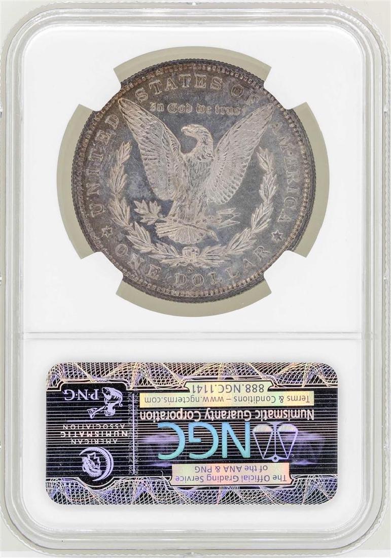 1886-S $1 Morgan Silver Dollar Coin NGC MS64 - 2