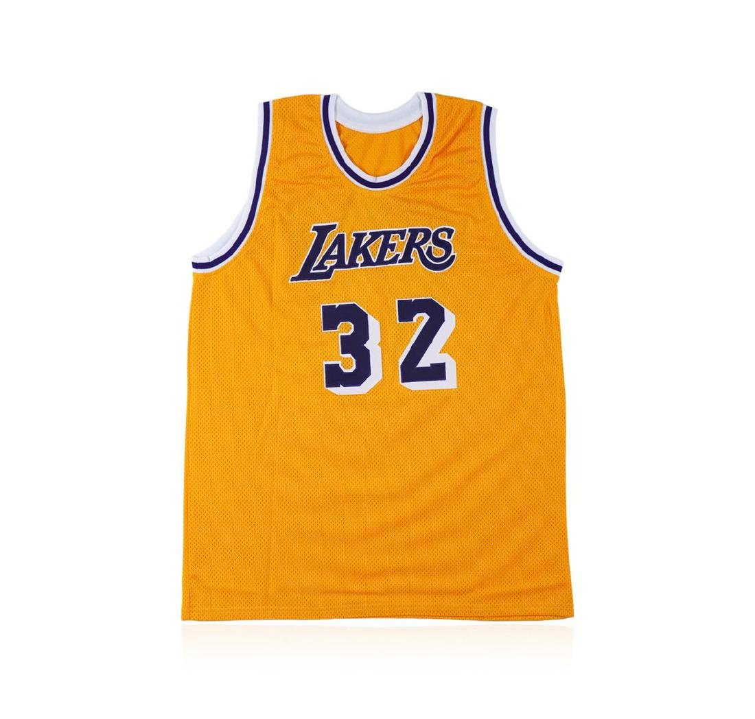 PSA Certified Magic Johnson Autographed Basketball - 3