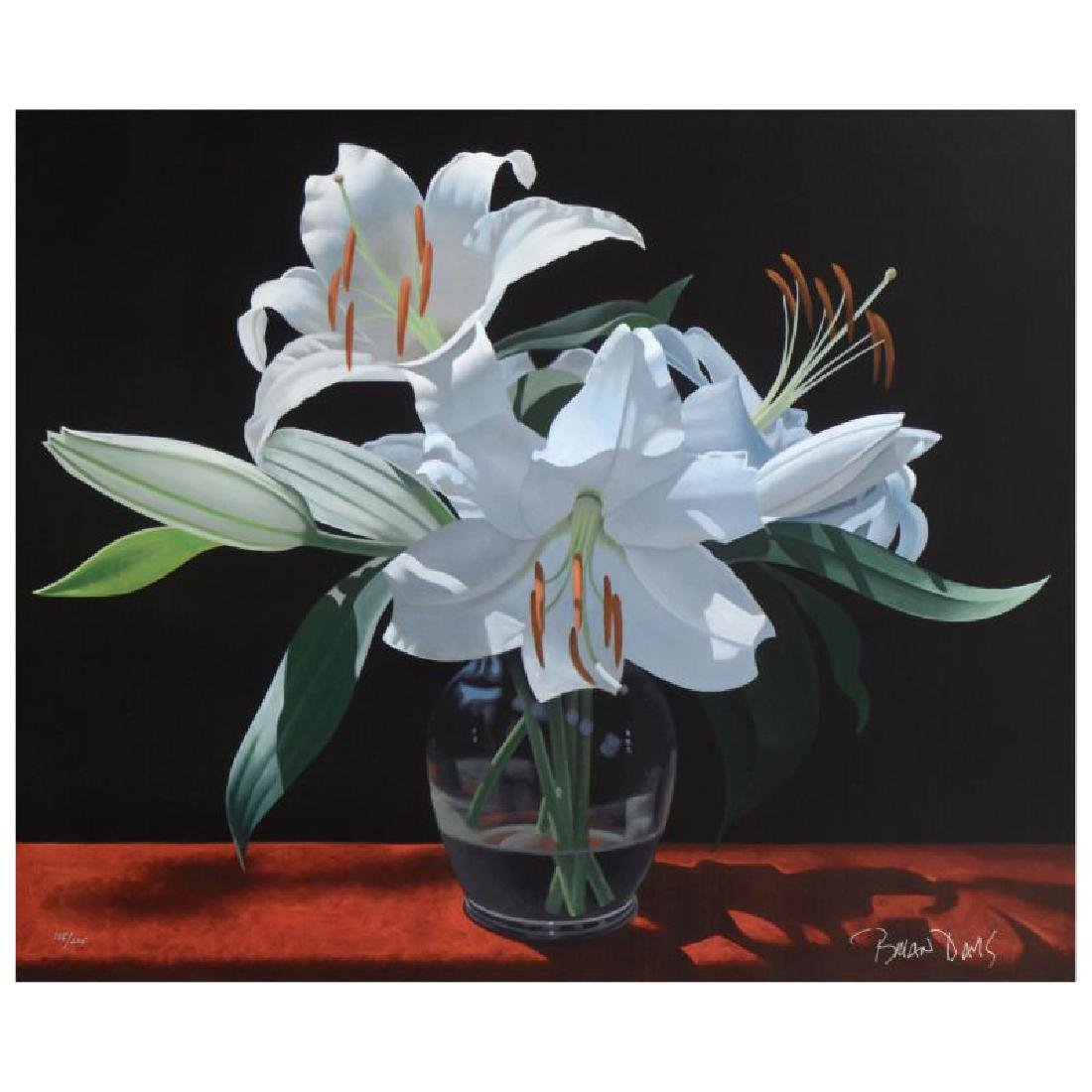 White Lilies In Soho by Davis, Brian