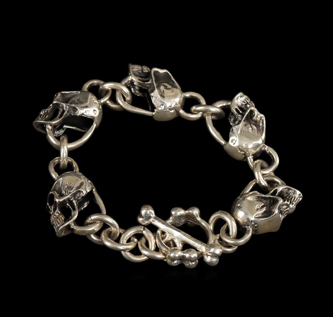 Sterling Silver Bracelet - 2