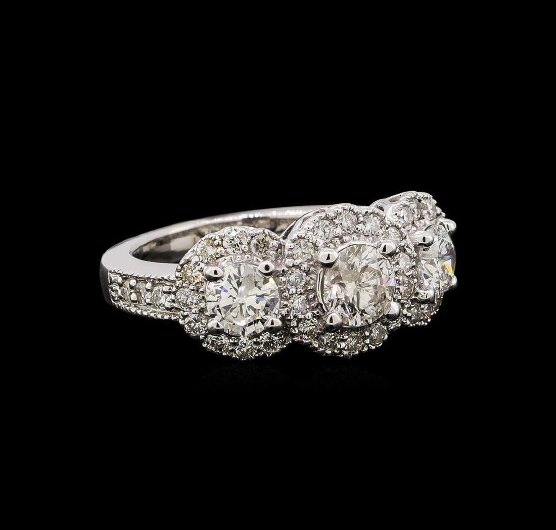 14KT White Gold 1.83 ctw Diamond Ring