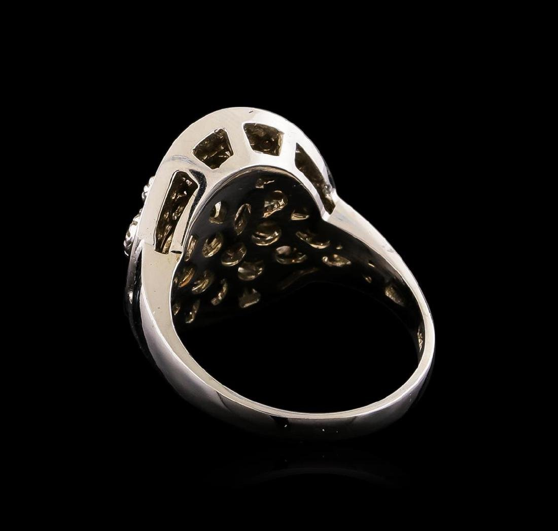 14KT White Gold 0.81 ctw Diamond Ring - 3