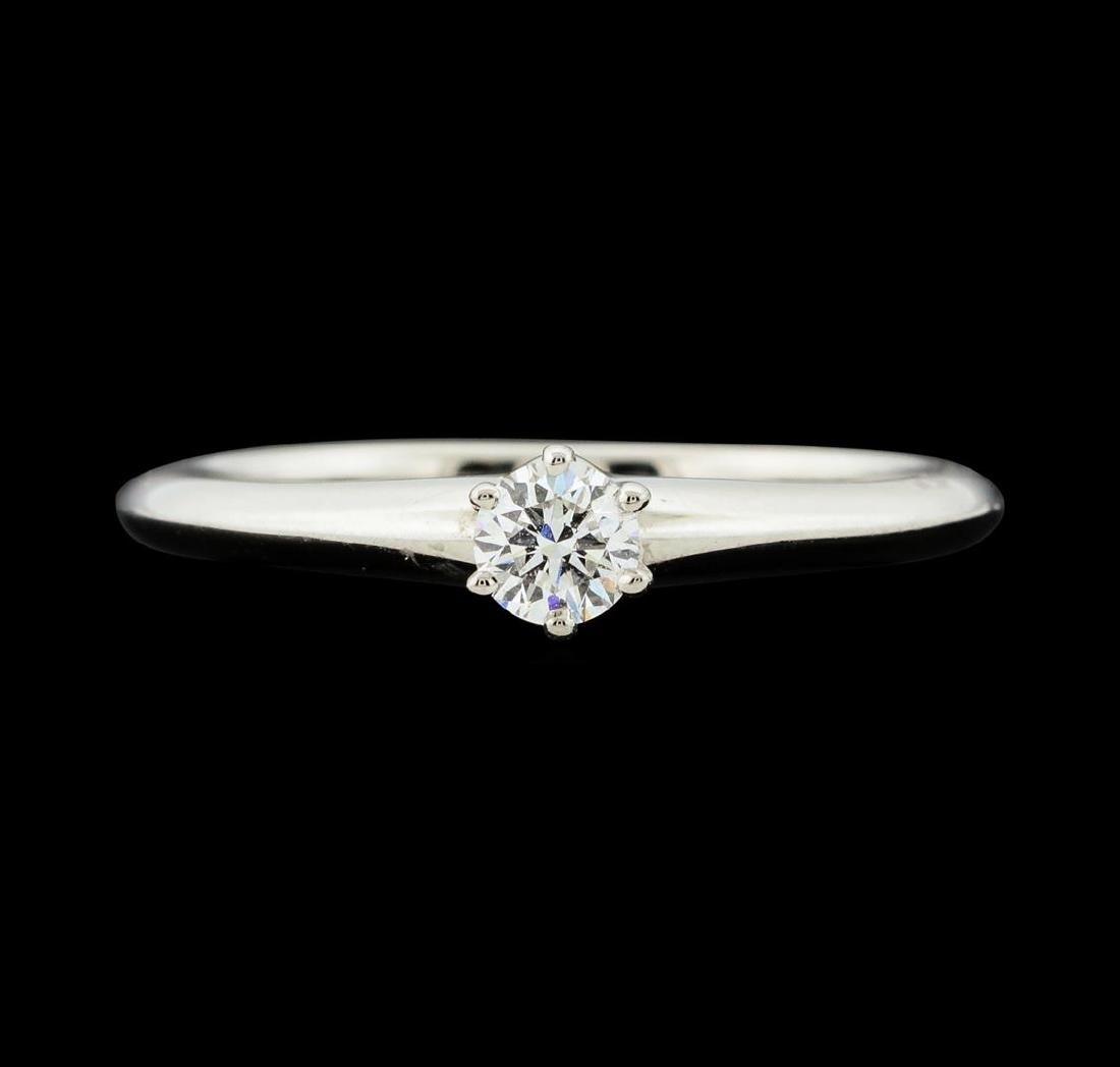 0.19 ctw Diamond Ring - Platinum - 2