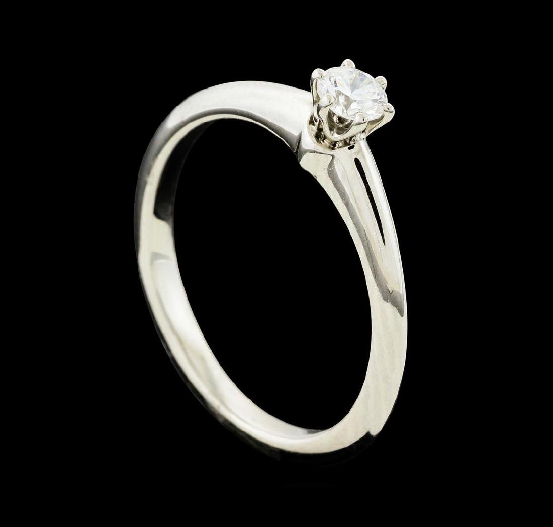 0.19 ctw Diamond Ring - Platinum - 4