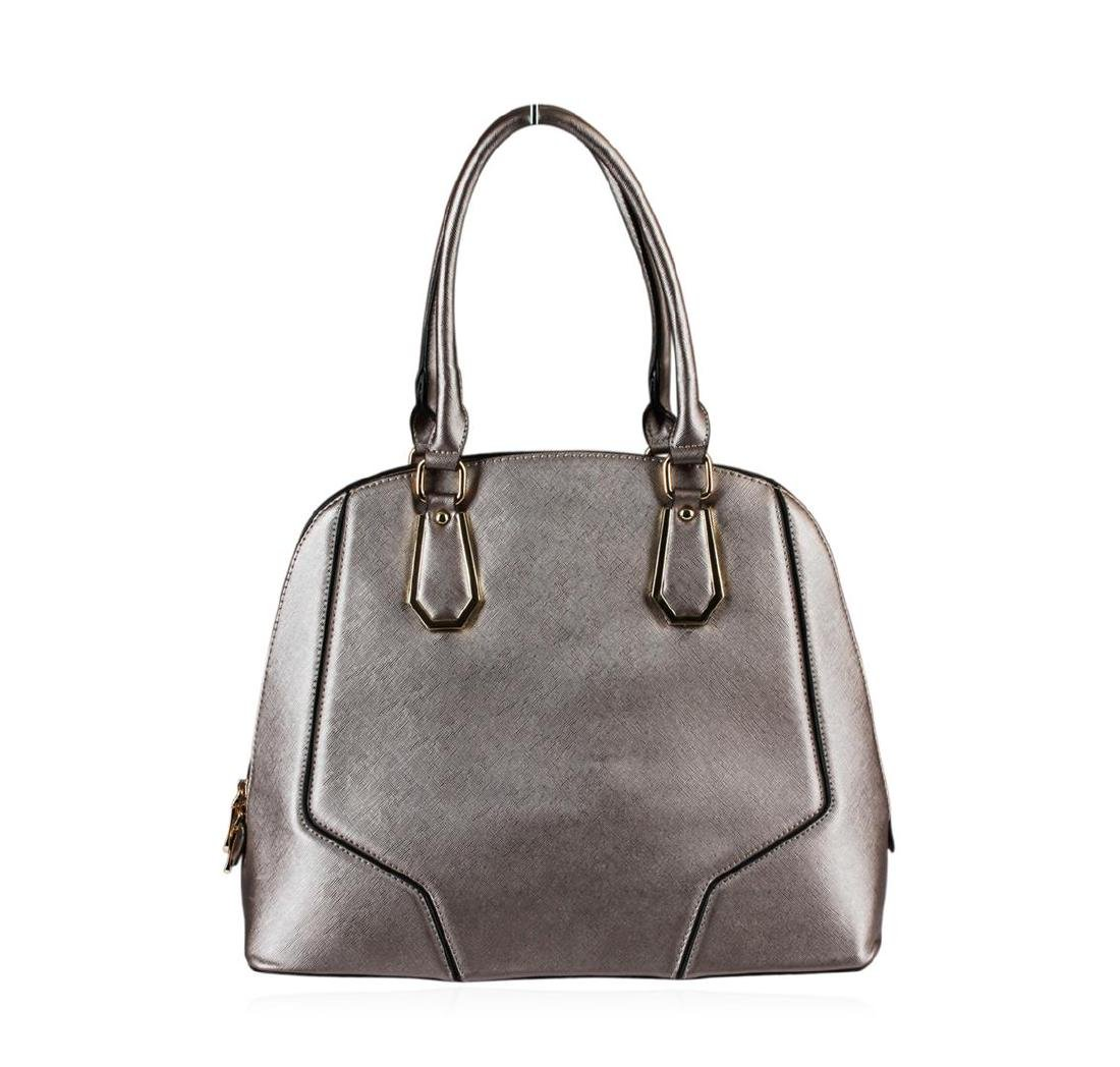 Metallic  Silver Rush Handbag - 2