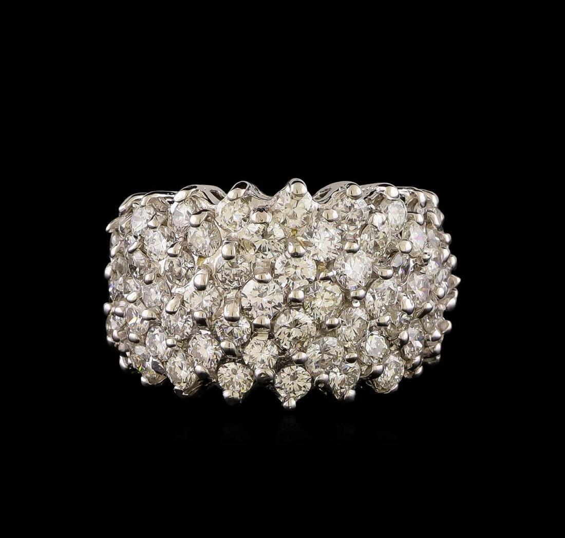 14KT White Gold 1.93 ctw Diamond Ring - 2