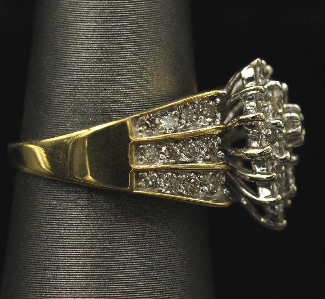 2.05 ctw Diamond Ring - 14KT Yellow Gold - 2
