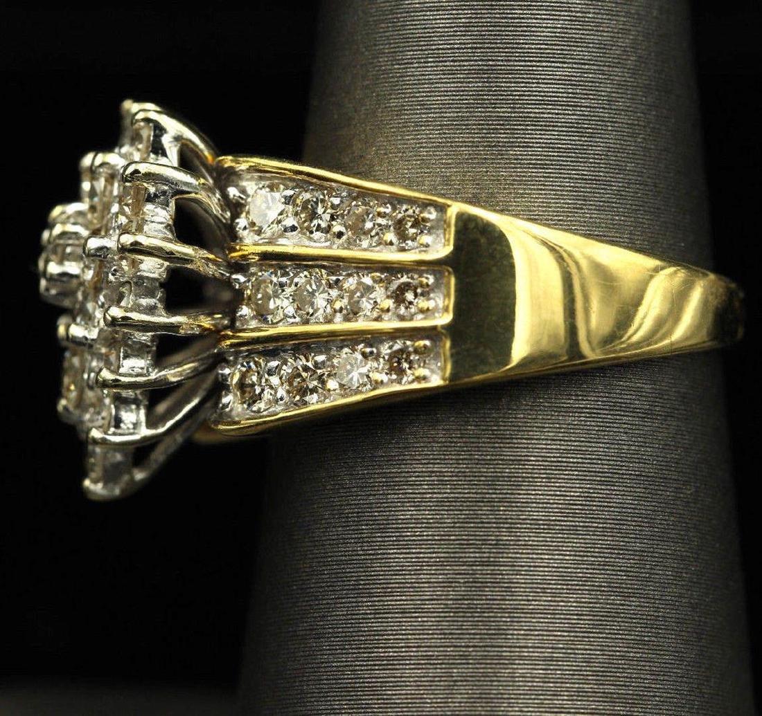 2.05 ctw Diamond Ring - 14KT Yellow Gold - 4