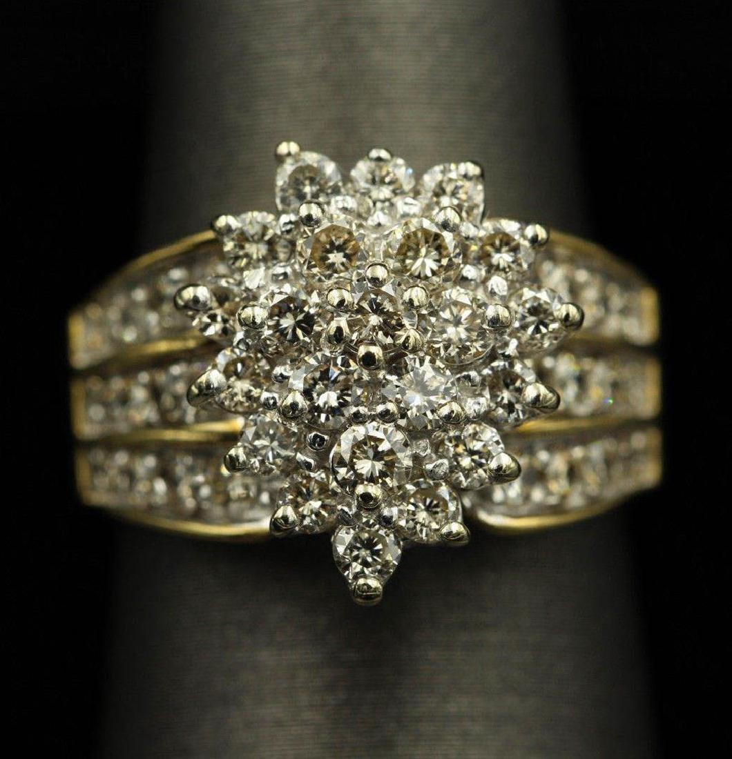 2.05 ctw Diamond Ring - 14KT Yellow Gold - 6