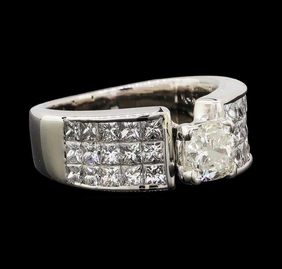 2.90 ctw Diamond Ring - 14KT White Gold