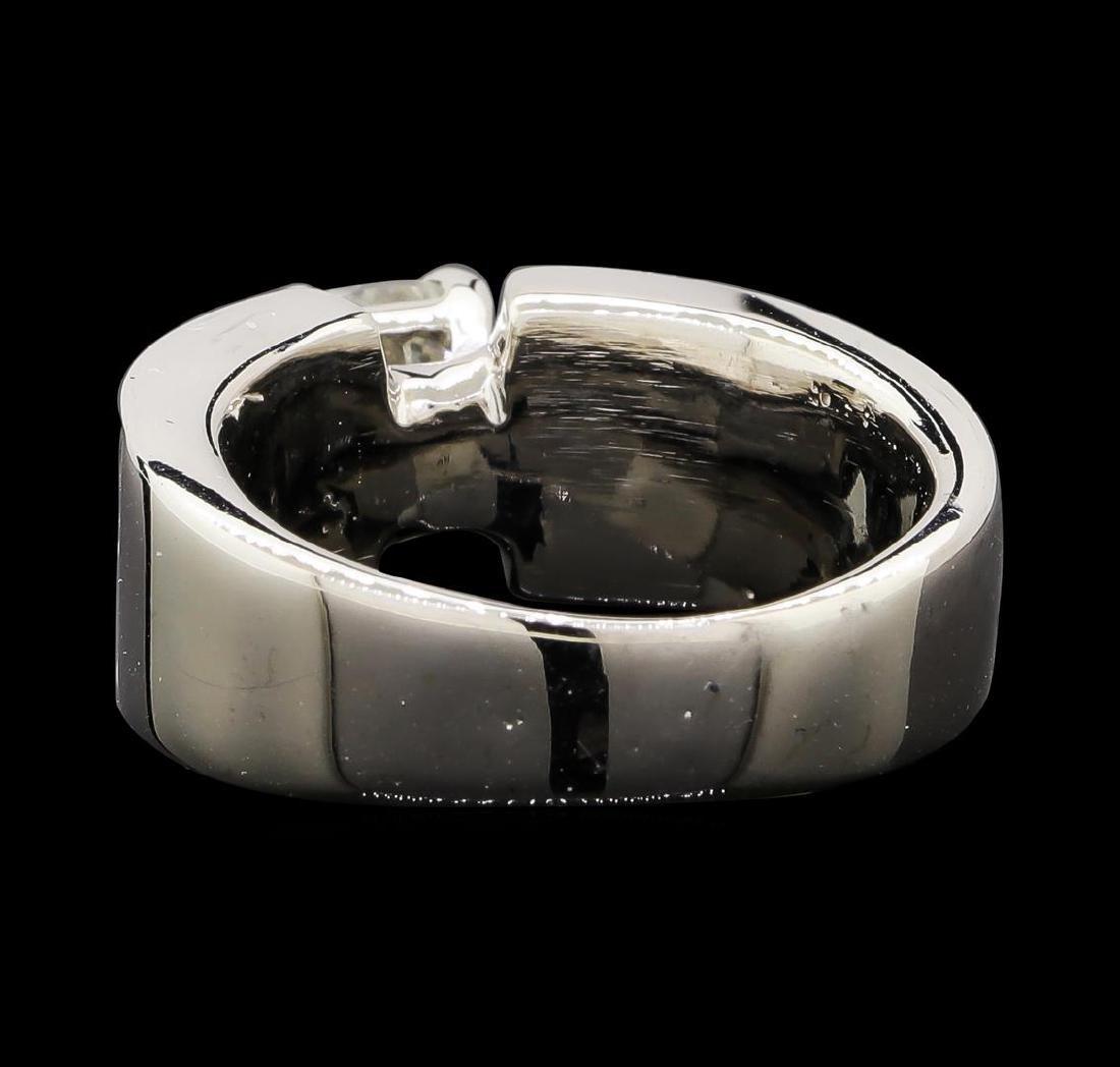 2.90 ctw Diamond Ring - 14KT White Gold - 3