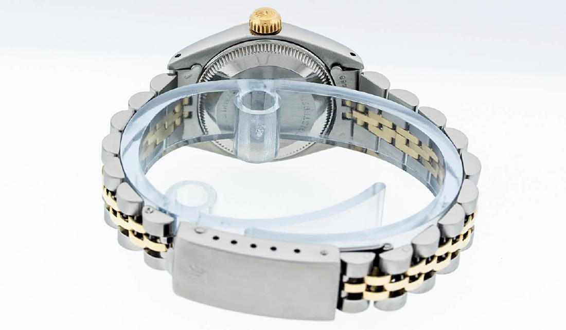 Rolex Ladies 2 Tone 14K White Diamond 26MM Datejust - 8