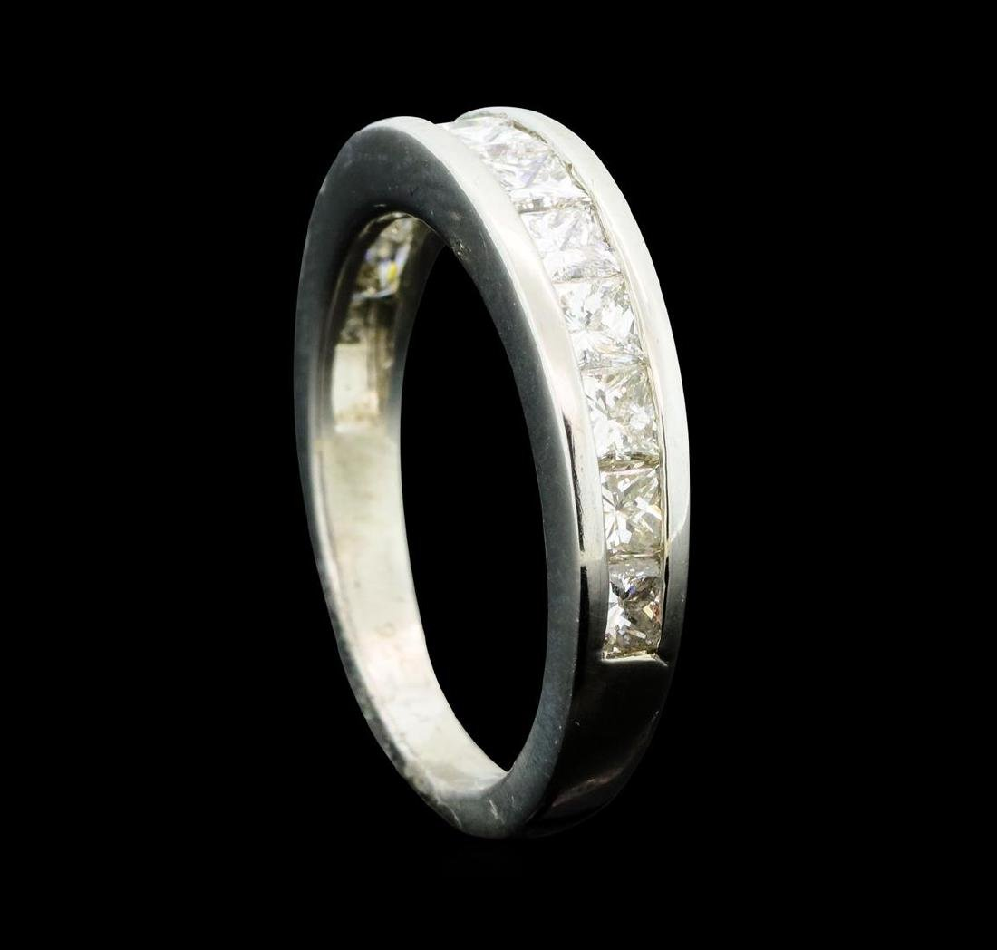1.00 ctw Diamond Ring - Platinum - 4