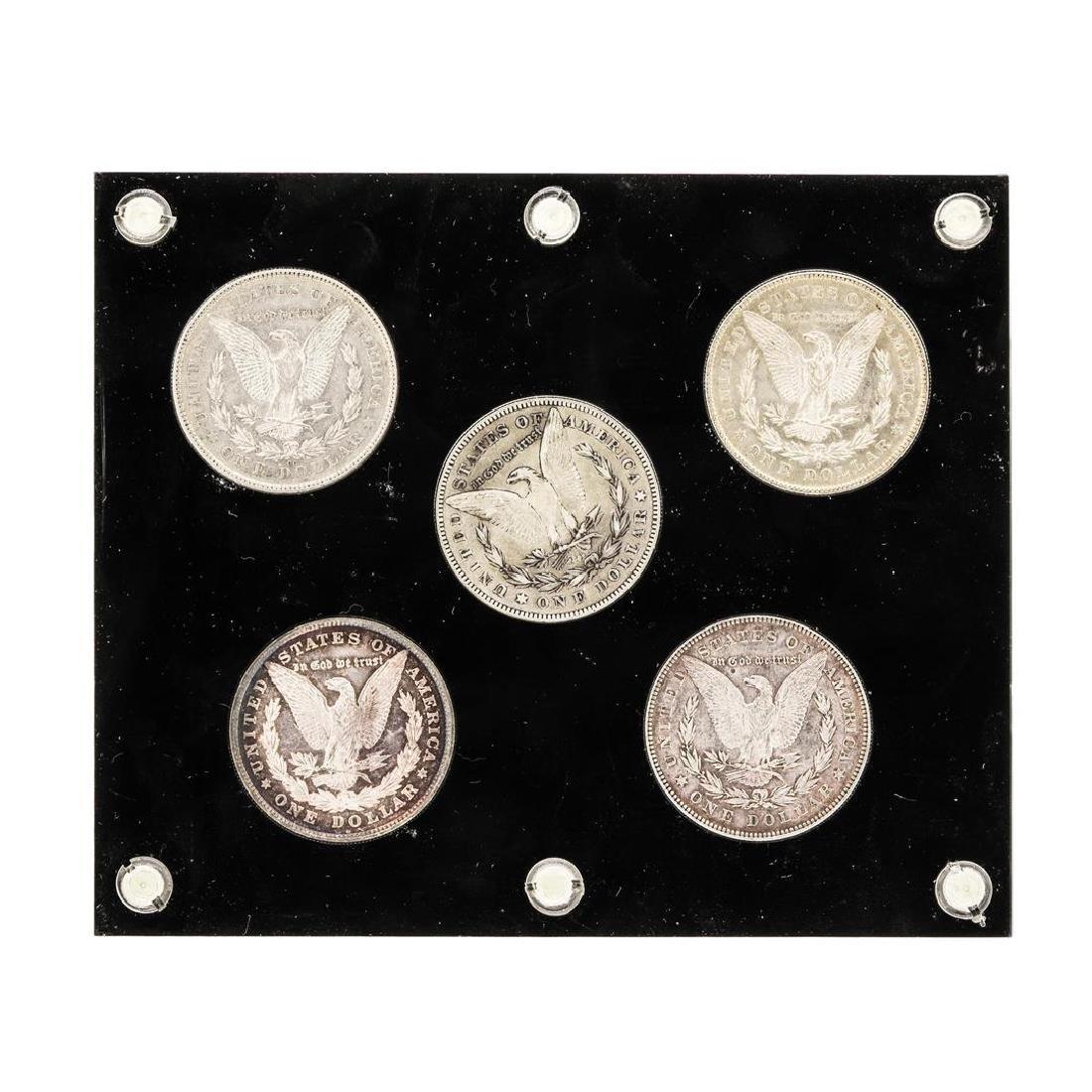 Set of (5) 1878 $1 Morgan Silver Dollar Coins - - 2