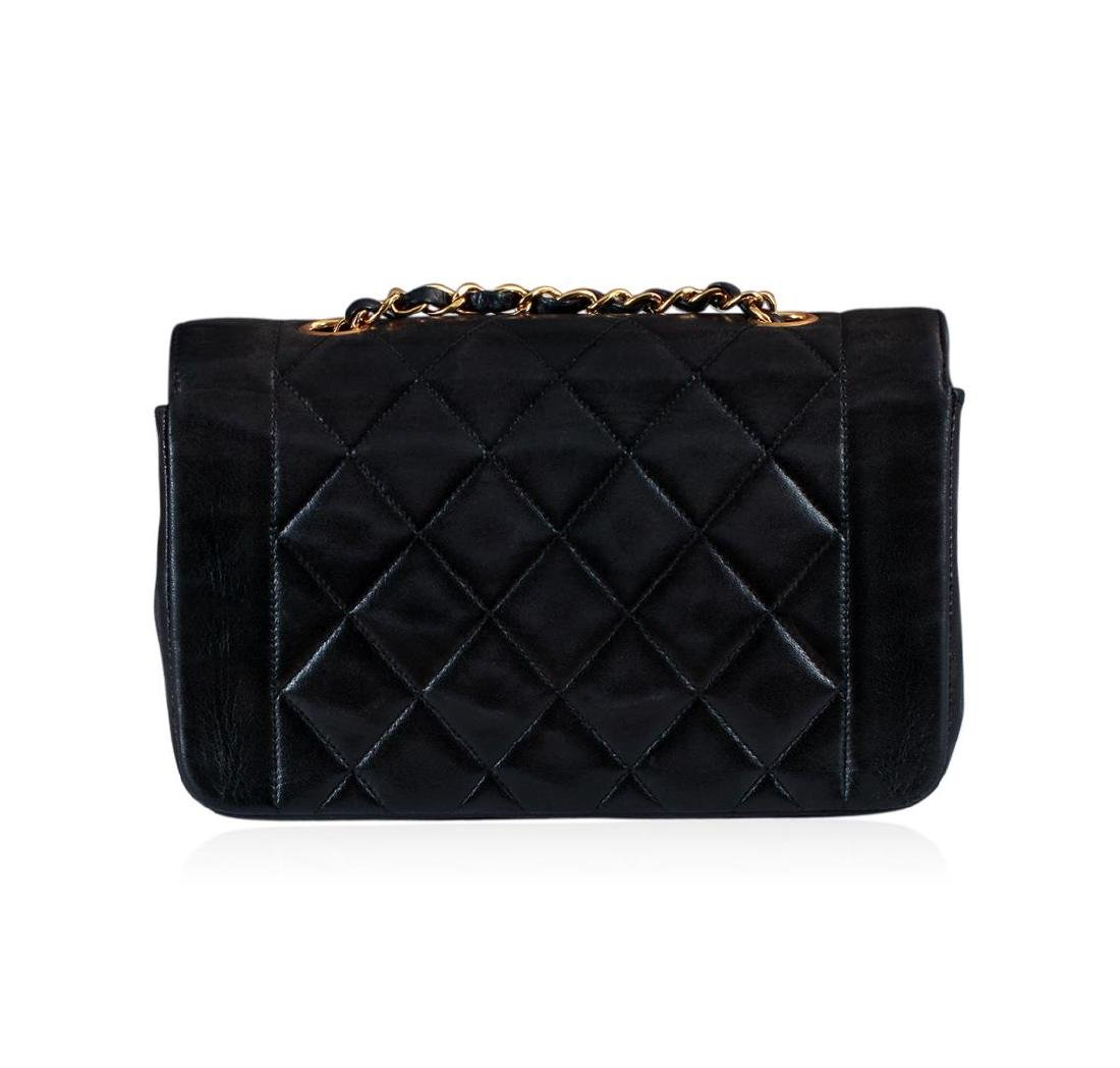 Chanel Matelasse Lamb Chain Leather Cross Body Bag - 2