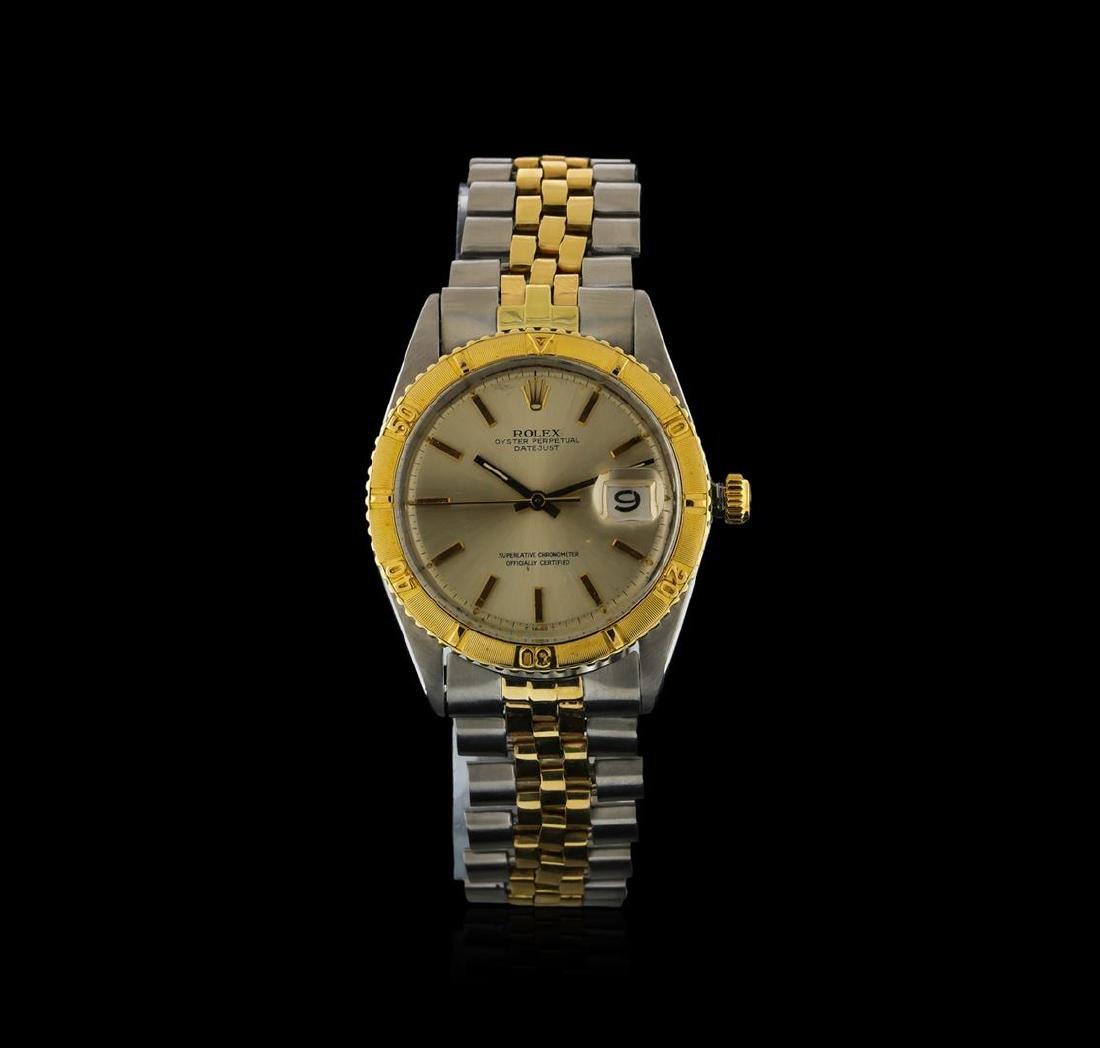 Rolex Two-Tone DateJust Thunderbird Vintage Wristwatch