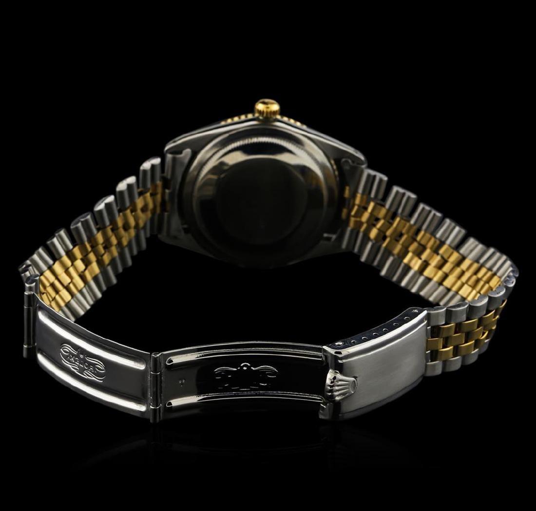 Rolex Two-Tone DateJust Thunderbird Vintage Wristwatch - 3