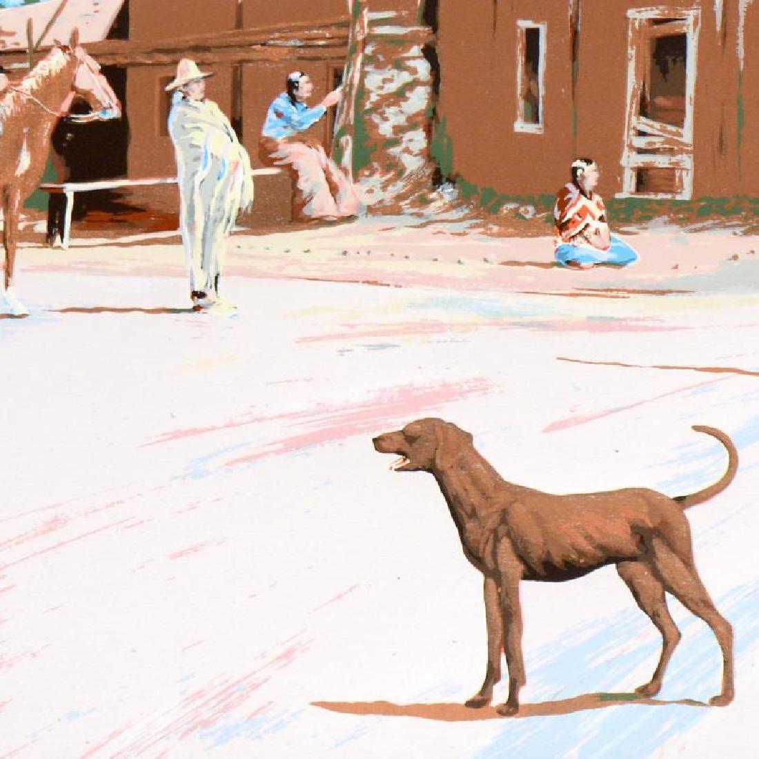 Santa Clara Dog by Nelson, William - 2