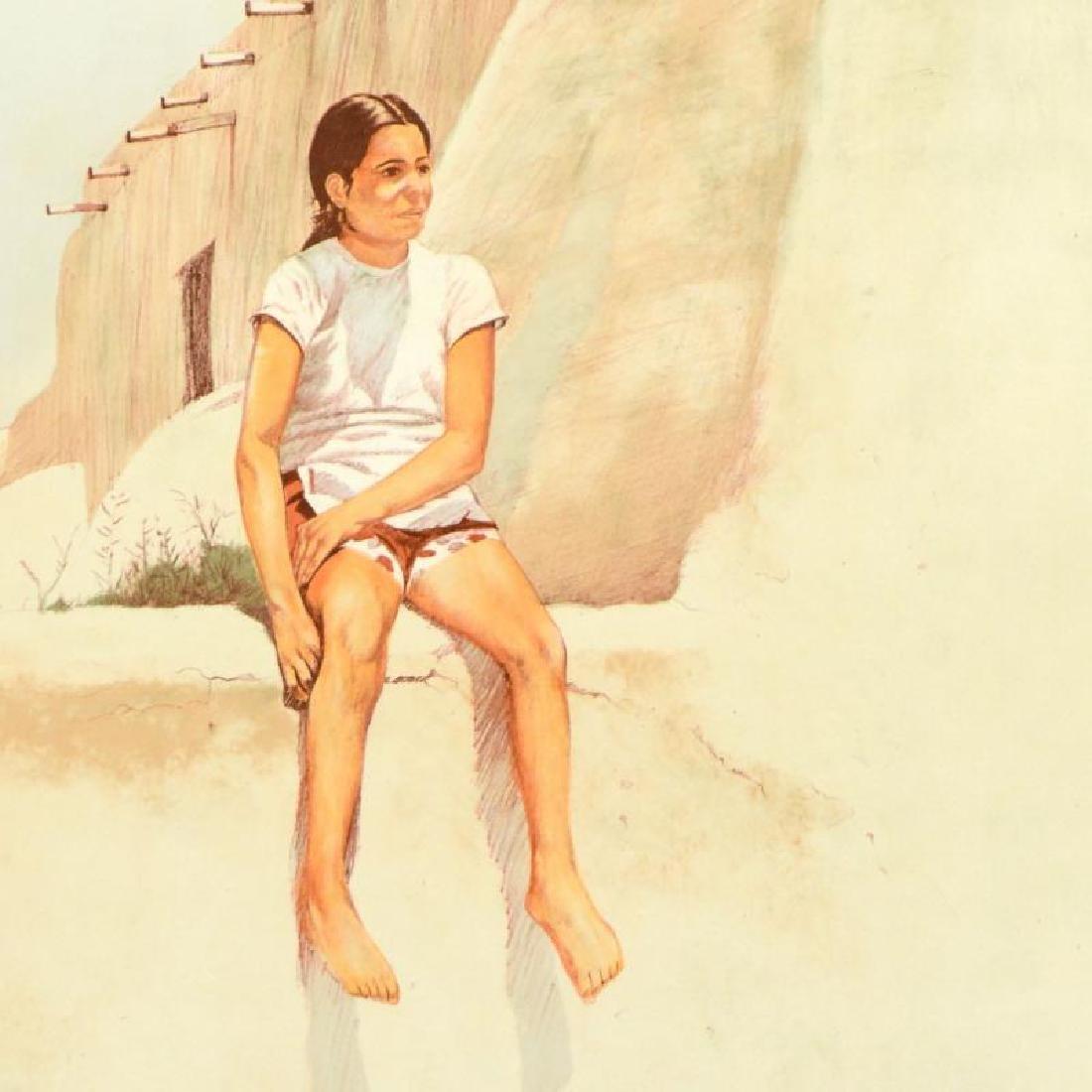 Isleta Indian Girl by Nelson, William - 2