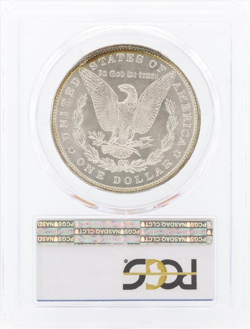 1887 $1 Morgan Silver Dollar Coin PCGS MS66 - 2