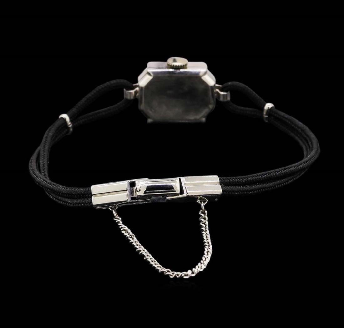 Vintage Wittnauer Diamond Ladies Watch - 2