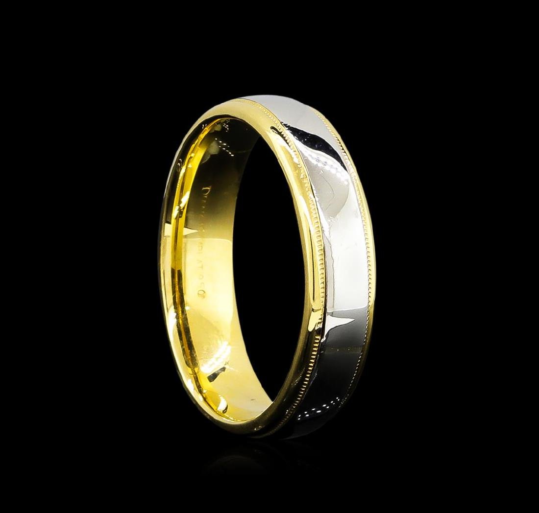 18KT Two-Tone Gold Ring - 2