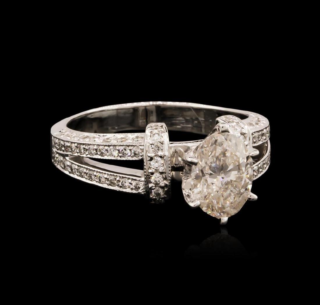 14KT White Gold 1.64 ctw Diamond Ring