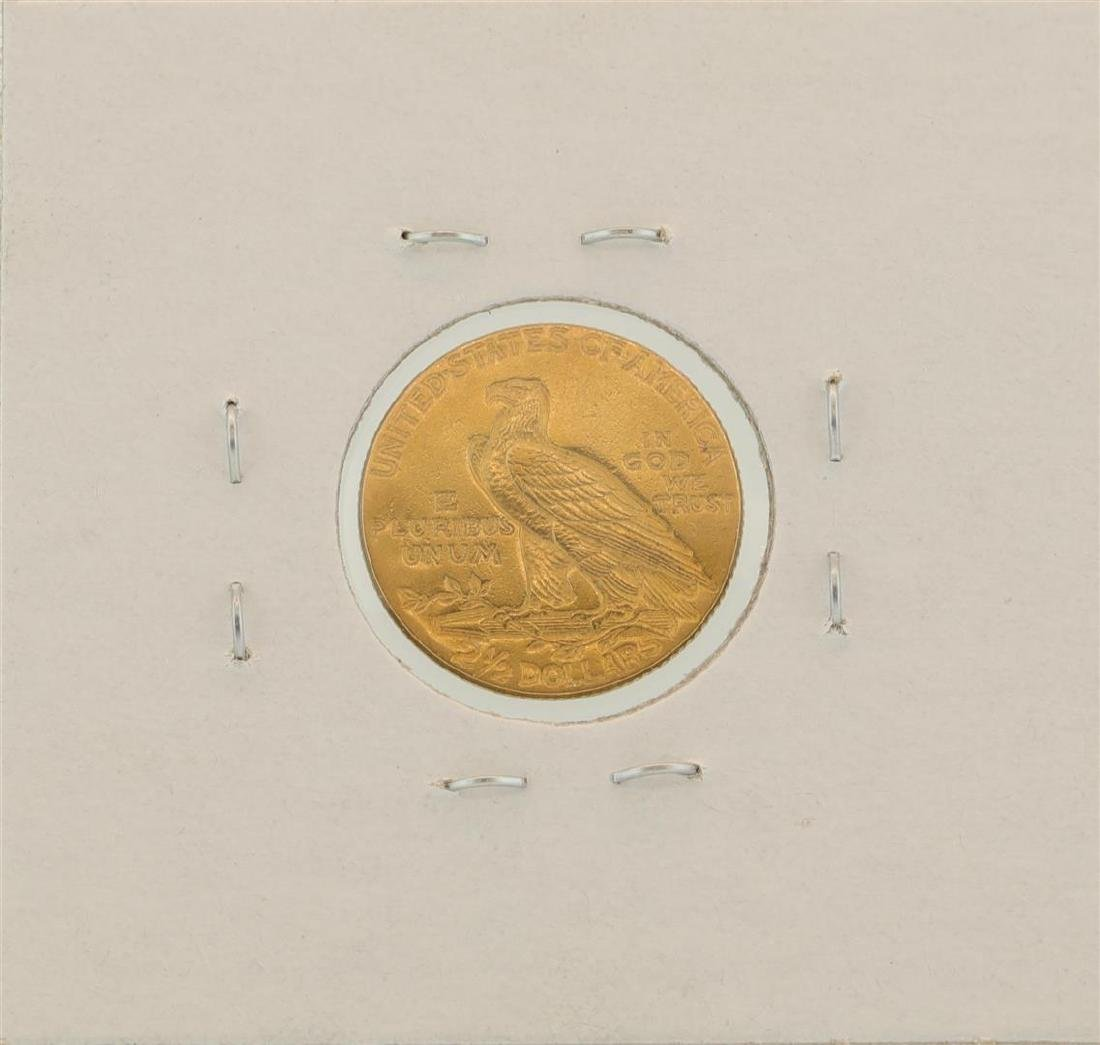 1913 $2.5 Indian Head Quarter Eagle Gold Coin - 2