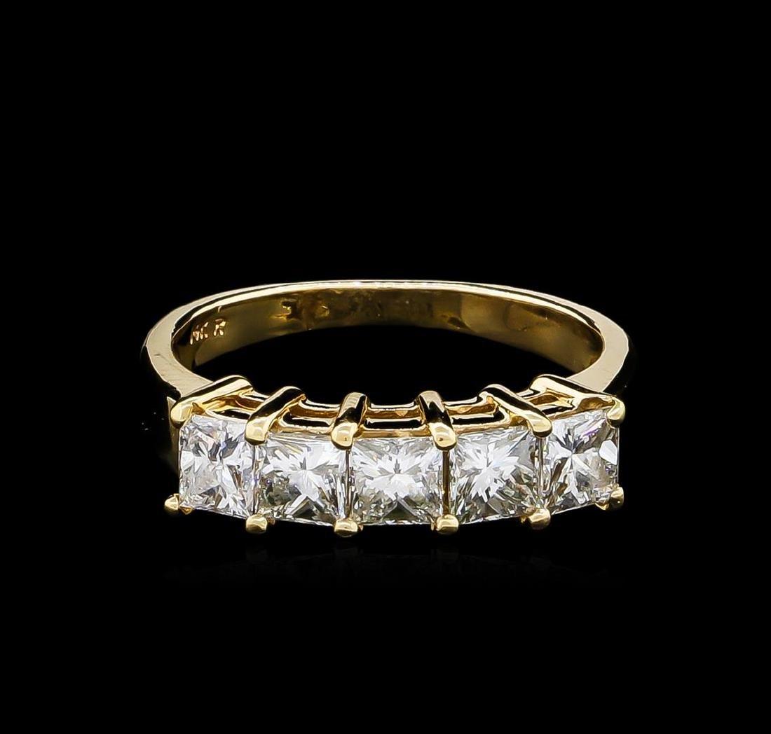 1.20 ctw Diamond Ring - 14KT Yellow Gold - 2