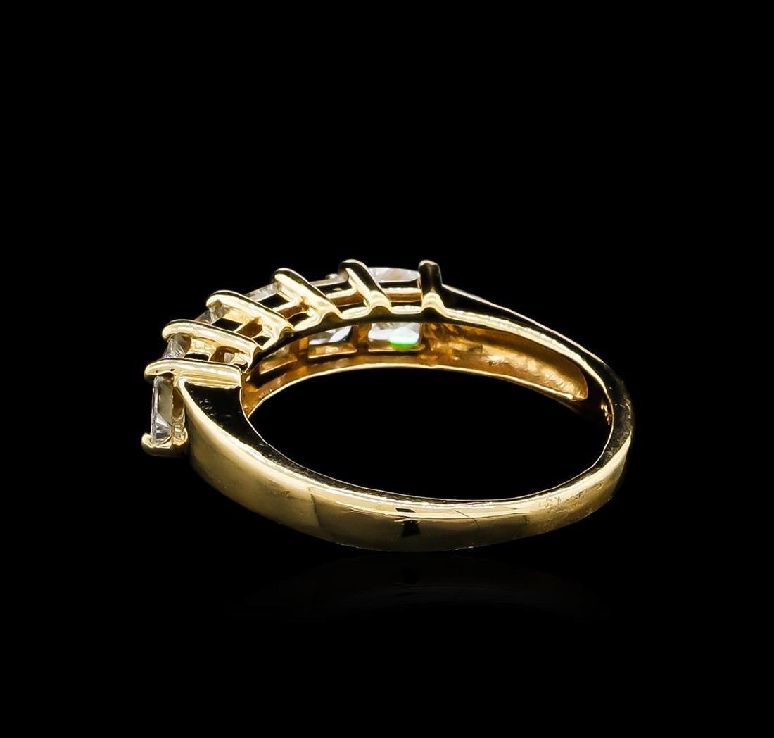 1.20 ctw Diamond Ring - 14KT Yellow Gold - 3