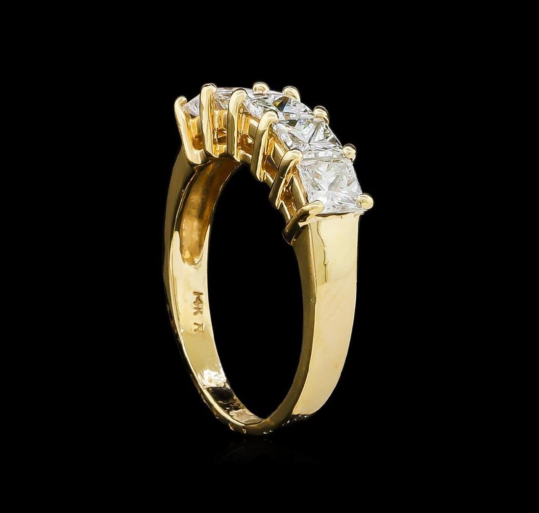 1.20 ctw Diamond Ring - 14KT Yellow Gold - 4