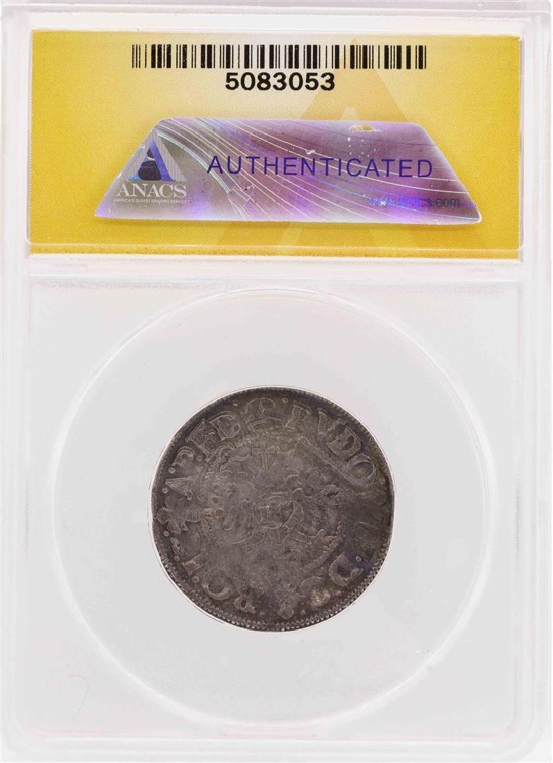 1602 Germany-Hamburg AR Doppelschilling Coin ANACS VF20 - 2