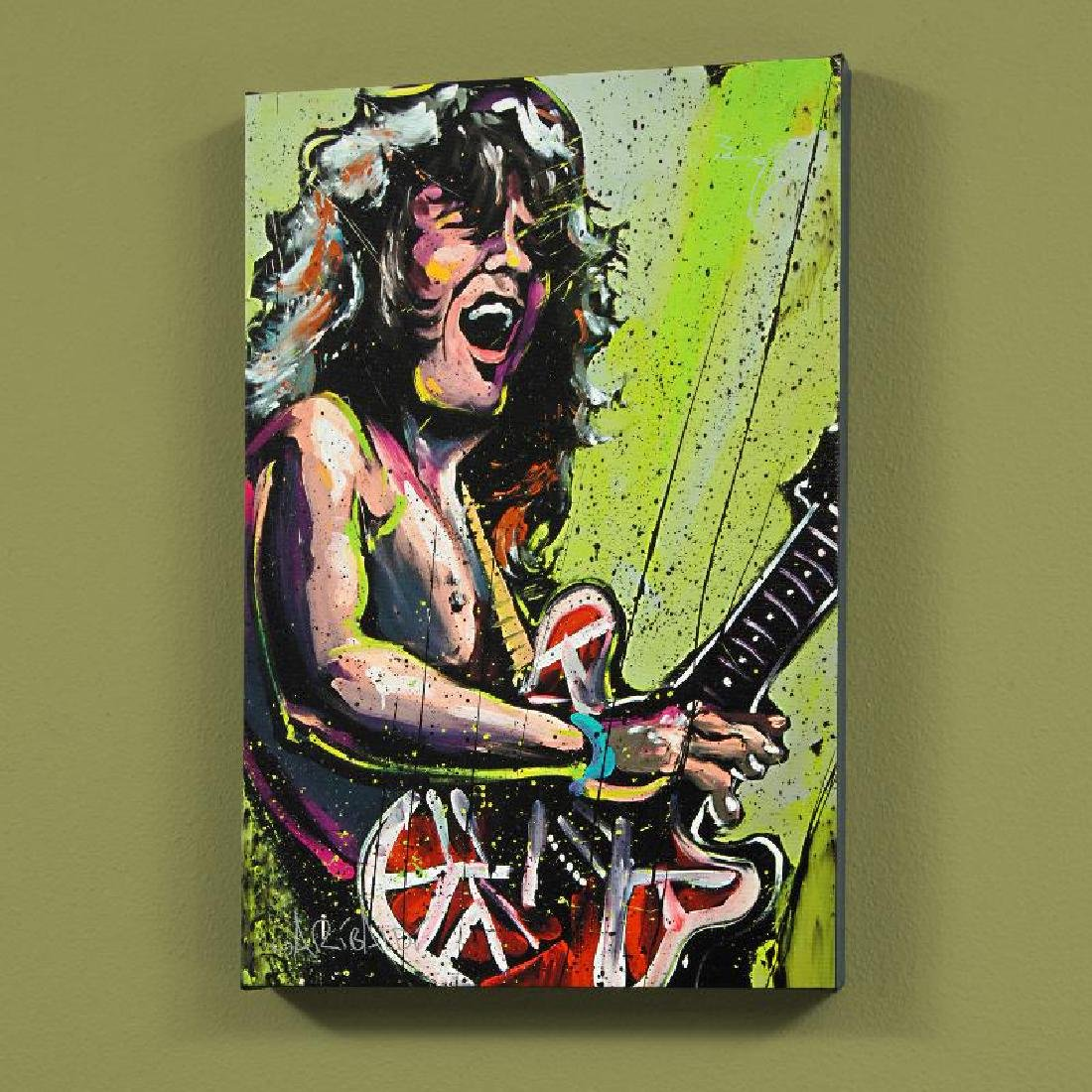 Eddie Van Halen (Eddie) by Garibaldi, David