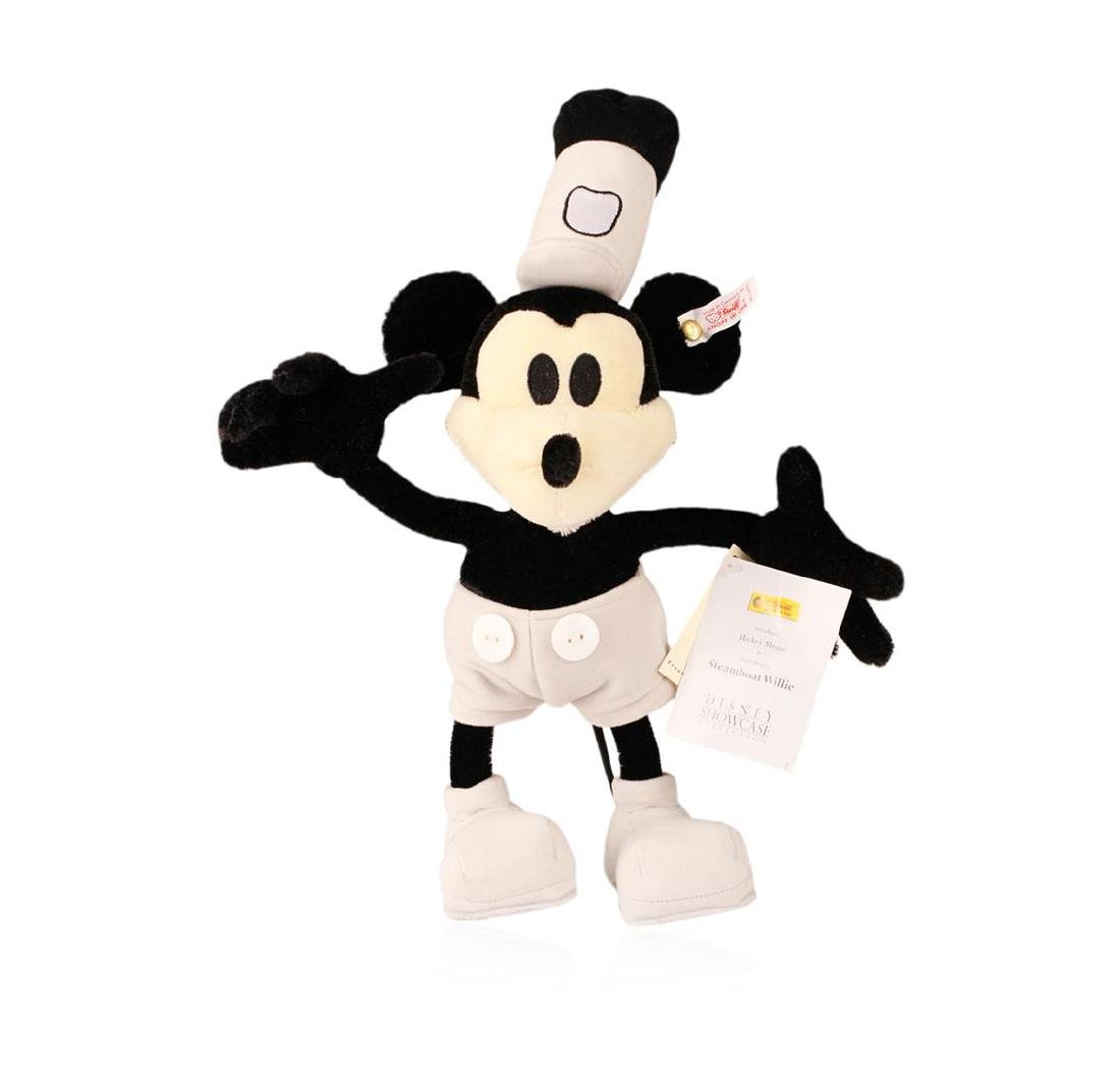 Steiff Steamboat Willie Early Mickey Mouse Made With - 2