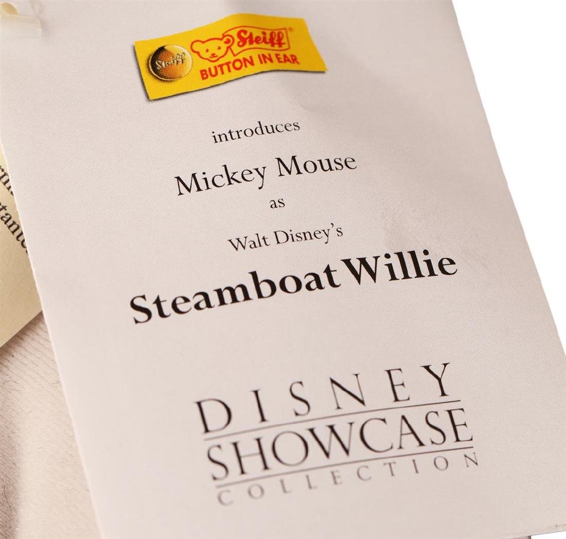 Steiff Steamboat Willie Early Mickey Mouse Made With - 4