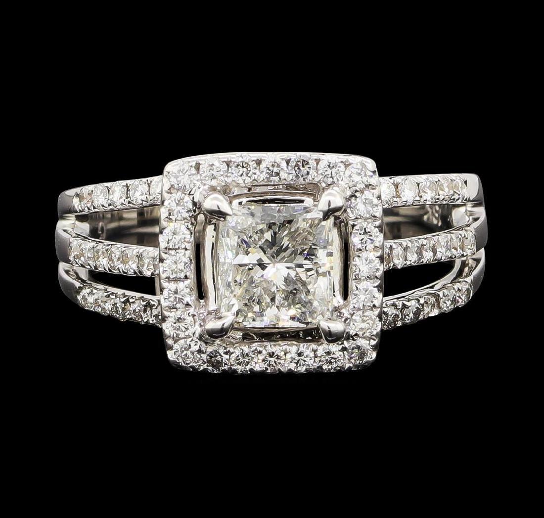1.65 ctw Diamond Ring - 18KT White Gold - 2