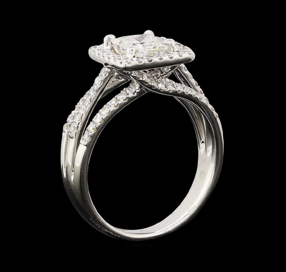 1.65 ctw Diamond Ring - 18KT White Gold - 4