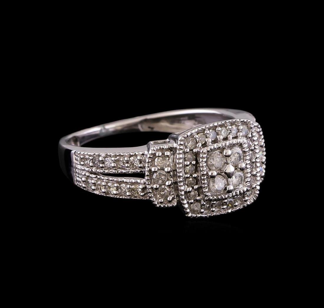0.55 ctw Diamond Ring - 10KT White Gold